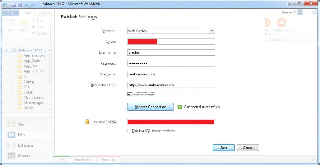 Cara Instal Umbraco Melalui WebMatrix Web Deploy 5