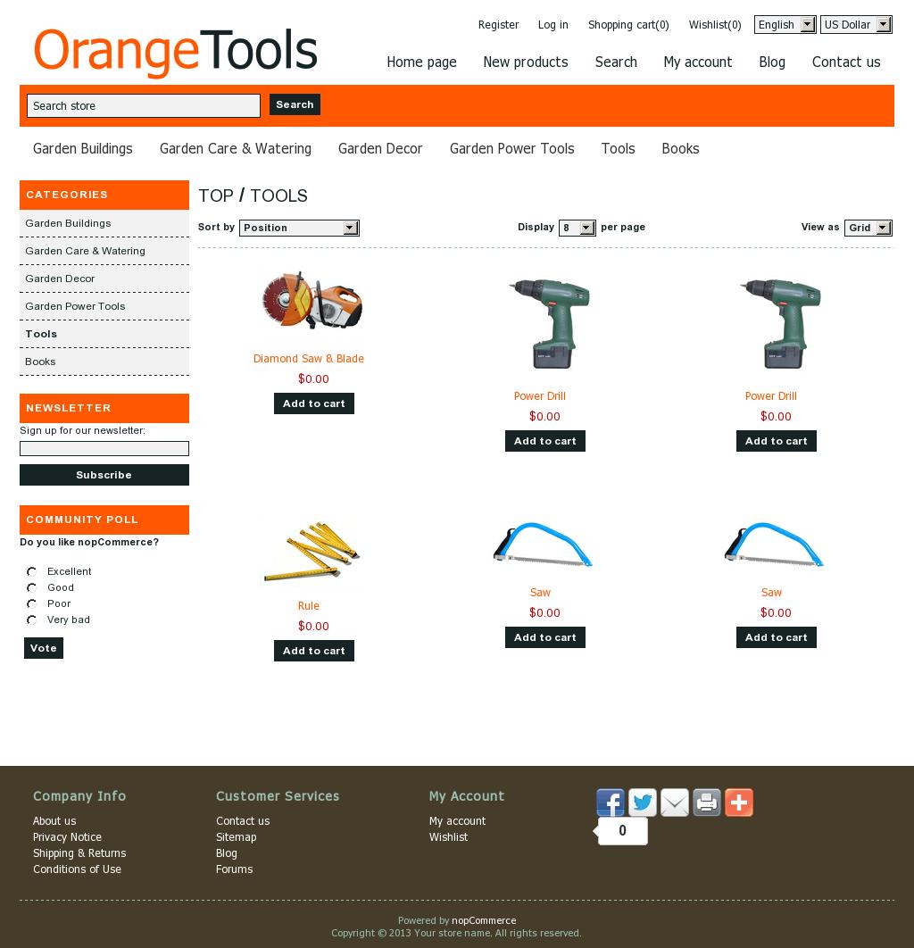 JaringanHosting.com – Buat Toko Online dengan nopCommerce