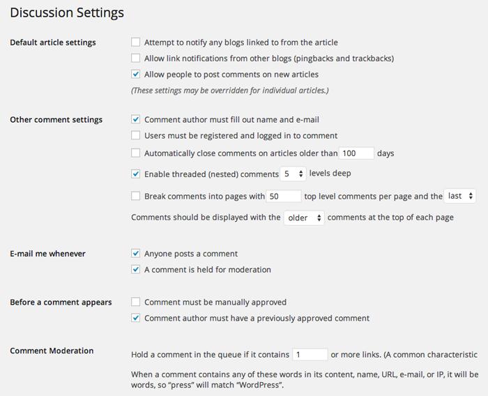 wordpress-discussion-settings