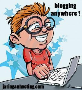 blog anywhere