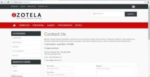 Contact Us di Zotela.com