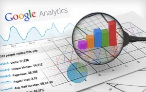 Traffic Pengunjung via Google Analytics