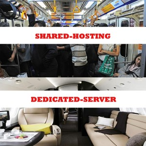 Shared Hosting vs Dedicated Server