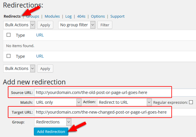 how-to-redirect-links-wordpress