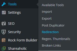 wordpress-redirection-plugin